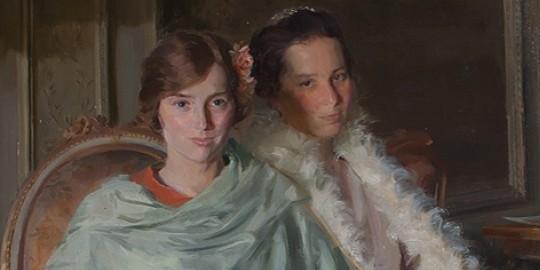 Kathleen and Rosalind - Douglas Stannus Gray