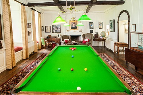 Llangoed Hall Snooker Table