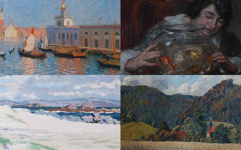 Llangoed Hall Art Collection